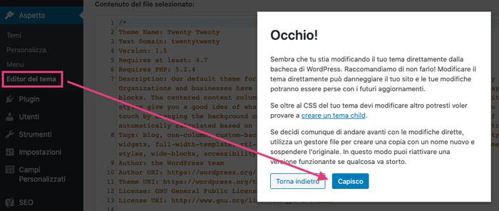 accedere-editor-tema-wordpress