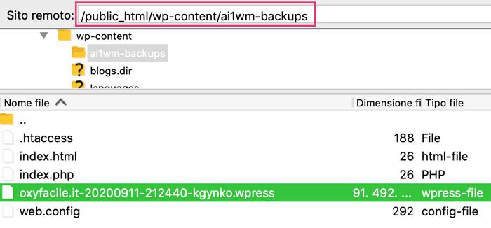 caricare-backup-wordpress-su-server