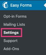 impostazioni-easy-forms