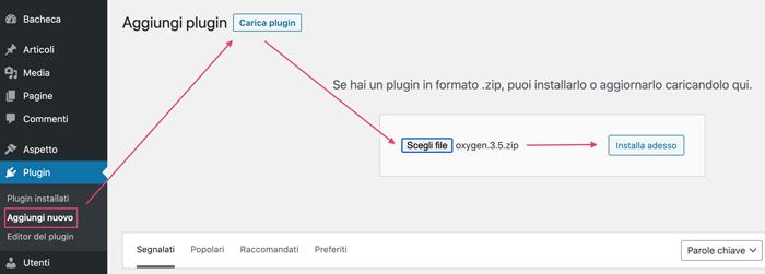 installare-plugin-oxygen-su-wordpress